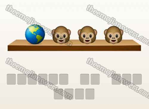 emoji-quiz-earth-globe-3-monkeys